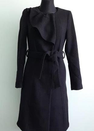 Пальто шерсть классика mint&berry размер 36 s