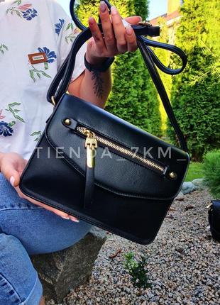 Клатч h6923 черный/ сумка через плечо erick style