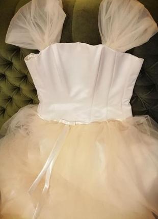 Свадебное платье (туфли в подарок)