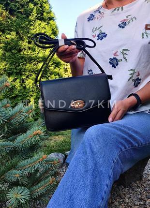 Клатч h6933 черный/ сумка через плечо erick style