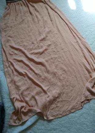Макси юбка ,длинная юбка zara