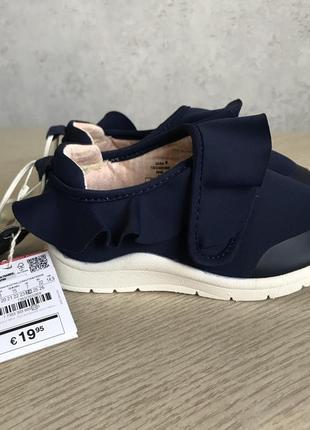 Новые кроссовки zara размер 24 стелька 15