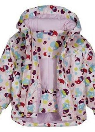 Термокуртка  на девочку lupilu,германия.