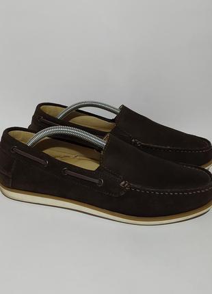 4️⃣0️⃣0️⃣🥾 пар обуви croford оригинал мокасины туфли размер 43