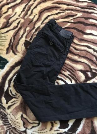 Клёвые чёрные джинсы от armani jeans