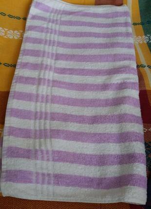 Качественное банное полотенце 58х118 см. якісний банний рушник.