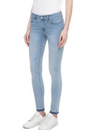 Женские голубые джинсы 511 skinny