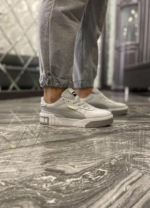 Женские шикарные кроссовки 🔥 puma cali grey
