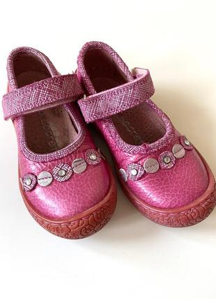 Добротнее туфельки на девочку 22 р