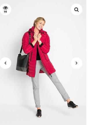 Пальто зимнее 44 евро 52-54-56 размер наш bonprix