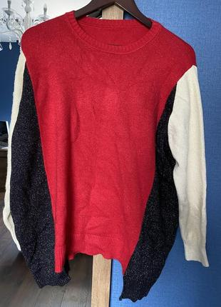 Невероятно мягкий и яркий свитер