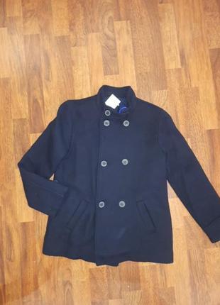 Шерстяной пиджак-пальто mango 11/12лет