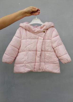 Тёплая курточка для девочки
