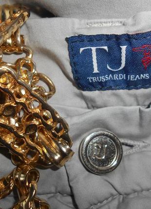 #акция 1+1=3 #trussardi#котоновые легкие брюки палаццо р. 33\31 #оригинал #5 фото