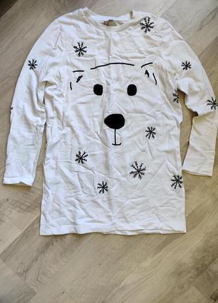 Классный большой свитер asos размер 36/s
