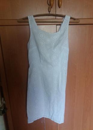Новое платье белое. размер 38