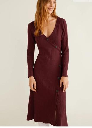 Платье только вишневый цвет