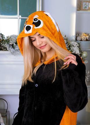 Кигуруми - пижама оранжевая панда детская / женская / мужская