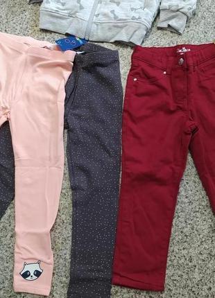 Джинсовые штаны брюки джинсы на девочку на мальчика kuniboo 98 104