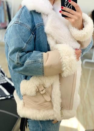Дубленка куртка на овчине