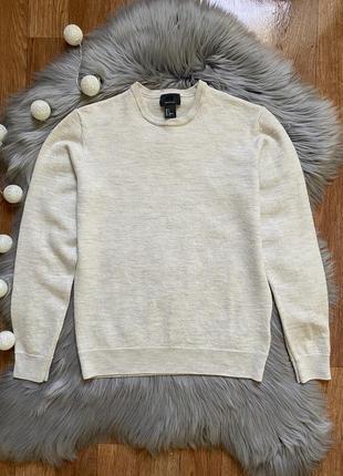 Шикарный свитер 100% шерсть