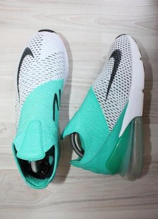 Оригинальные женские кроссовки nike air max 270 flyknit