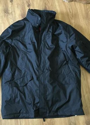 3в1 зимняя куртка пальто плащ термо пуховик парка izod из сша