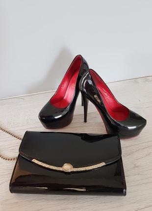 Набор туфлі +сумка