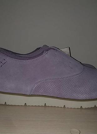 Туфли 42-43 р замшевые нежные2 фото
