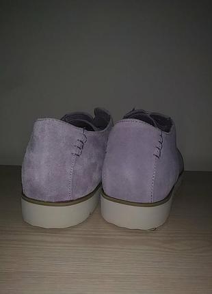 Туфли 42-43 р замшевые нежные4 фото