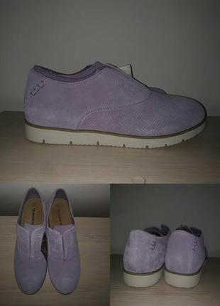 Туфли 42-43 р замшевые нежные1 фото