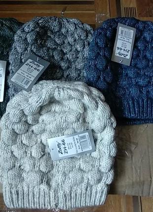 Теплые шапки