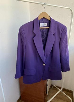 Пиджак блейзер удлинённый шерстяной