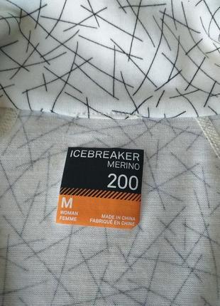 Icebreaker merino 200  термокофта6 фото