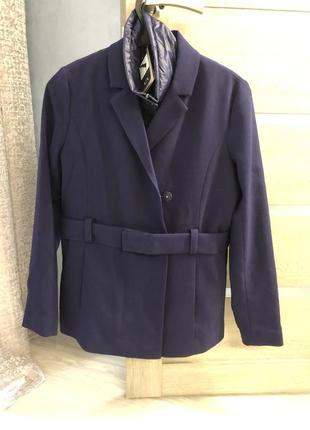 Супер актуальная куртка пиджак-жилет armani exchenge оригинал1 фото