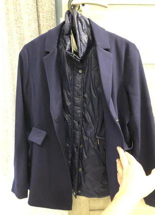 Супер актуальная куртка пиджак-жилет armani exchenge оригинал2 фото