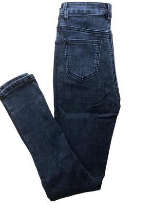 Женские серые джинсы5 фото