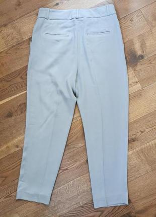Peserico легкие, укороченные брюки с высокой посадкой3 фото