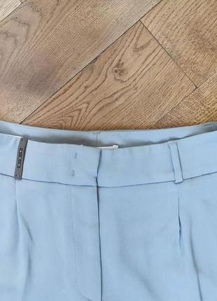 Peserico легкие, укороченные брюки с высокой посадкой4 фото