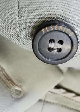 Peserico легкие, укороченные брюки с высокой посадкой7 фото