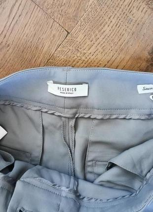 Peserico легкие, укороченные брюки с высокой посадкой5 фото