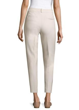 Peserico легкие, укороченные брюки с высокой посадкой8 фото