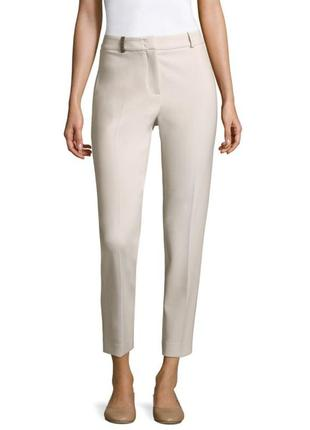 Peserico легкие, укороченные брюки с высокой посадкой2 фото