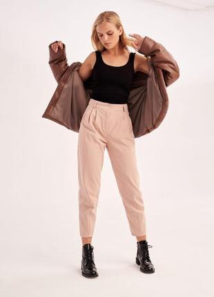 Шикарная стильная куртка эко-кожа3 фото