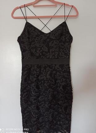 Коктейльное платье topshop1 фото