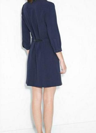 Стильное платье на пуговицах mango2 фото