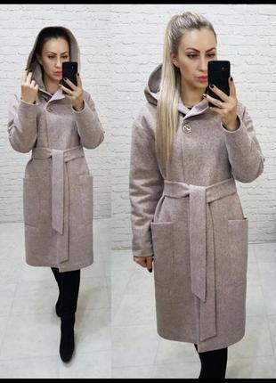 Утеплённое пальто1 фото