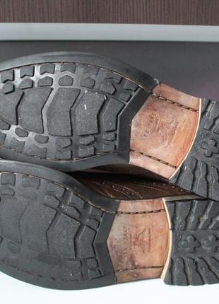 Правильные осенние туфли броги,оригинал ted baker,100% натуральная кожа9 фото