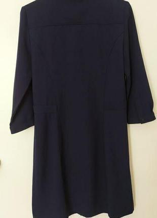 Стильное платье на пуговицах mango5 фото