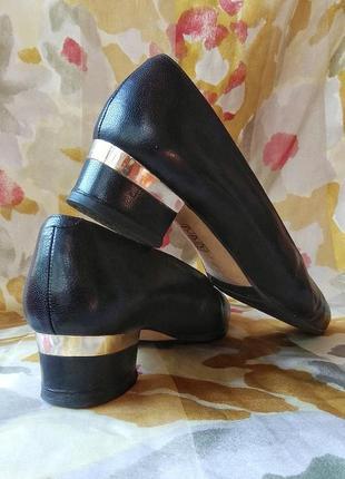 Туфли из натуральной кожи, италия4 фото